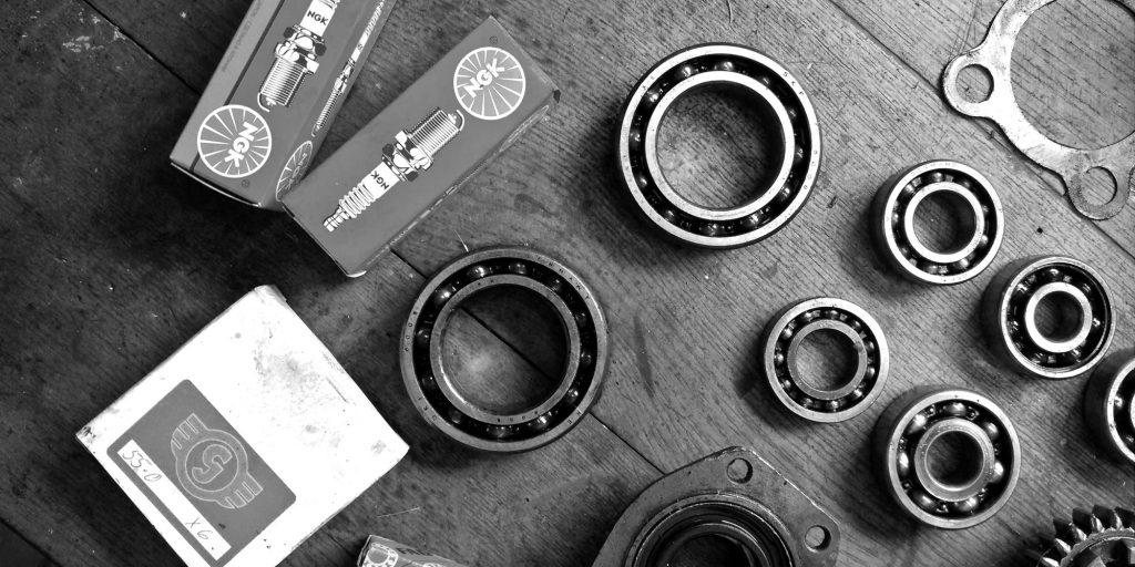 Motor-Ersatzteile für die Motorüberholung