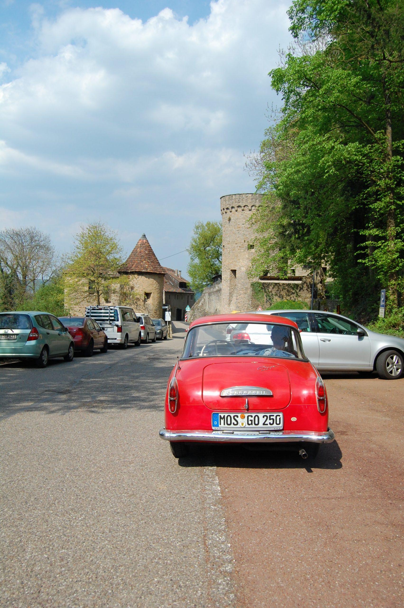 Greifenwarte Burg Guttenberg