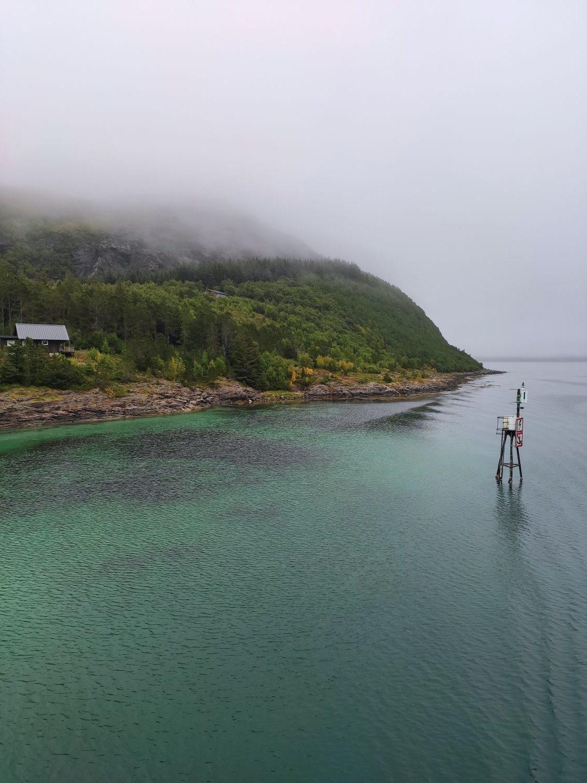Einlaufen Vennesund