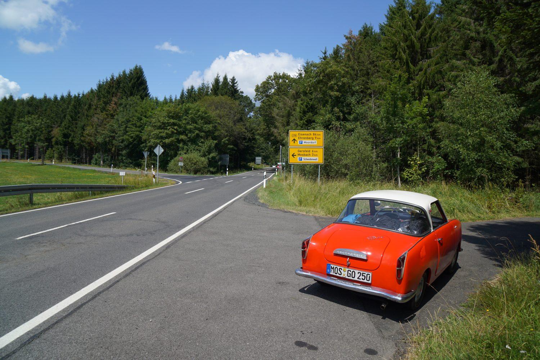 Goggo vor Mosbach (Gersfeld)