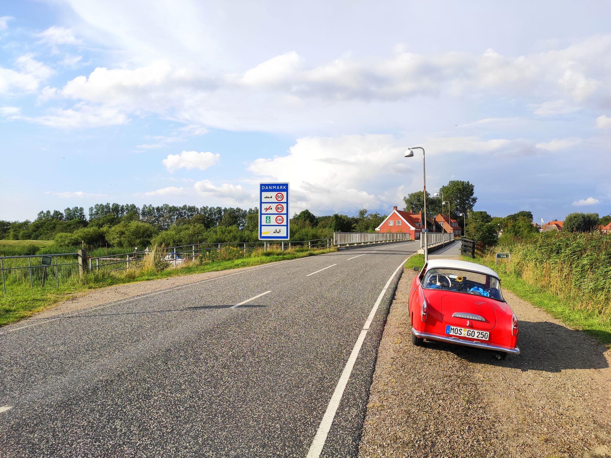 Goggo-Touren: Dänemark. Im alten Goggo Coupé der Nordseeküste entlang