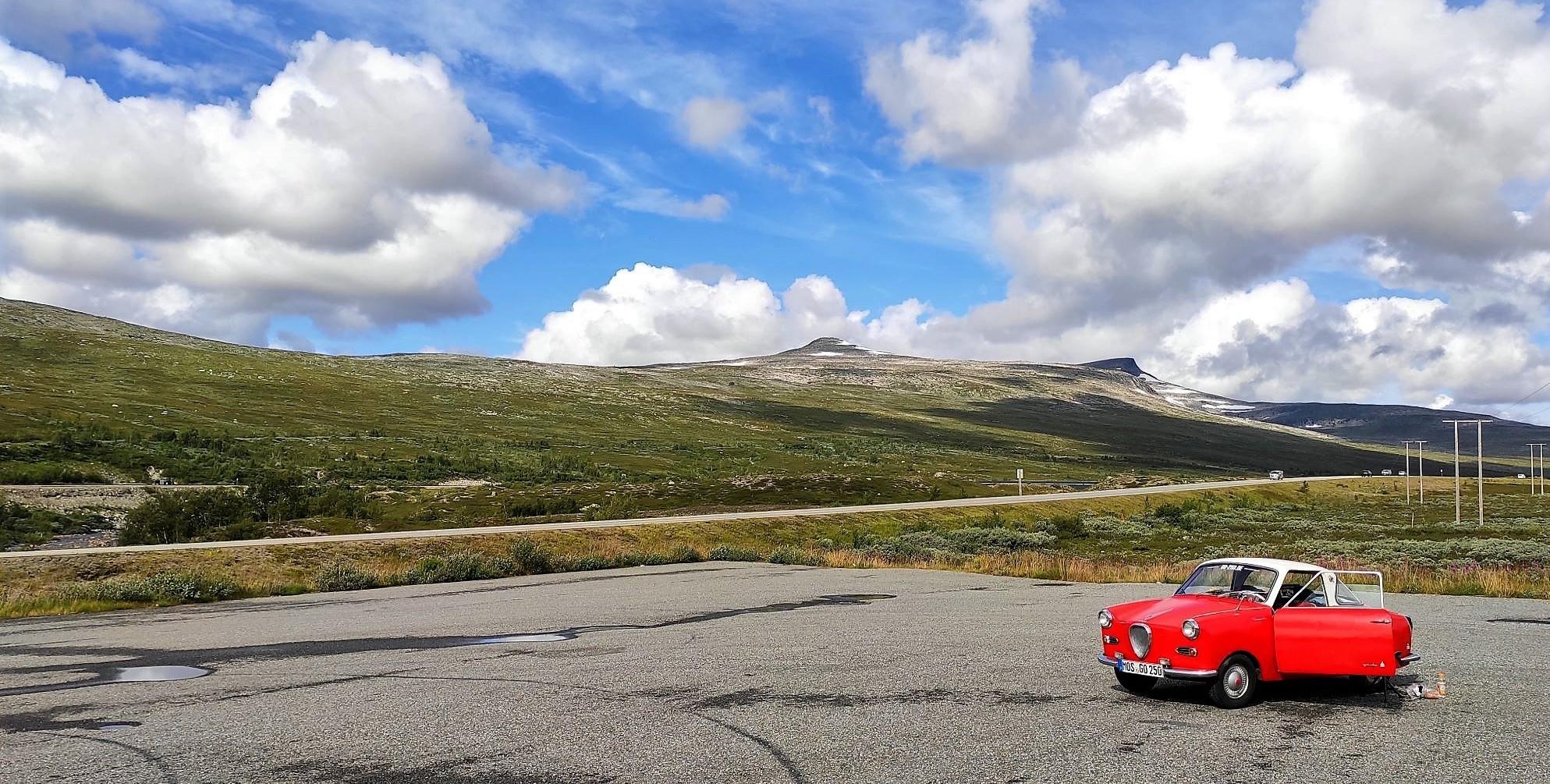 Goggo-Touren: Skandinavien. Weite Norwegens mit Goggo Coupé