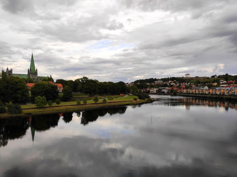 Stadtbild Trondheim