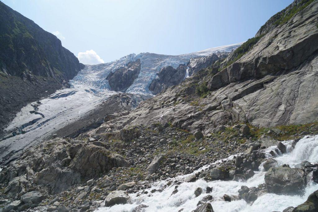 Gletscher Buarbreen bei Odda