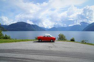 Goggo Coupé in Skandinavien. Auf GO250 Oldtimer miterleben